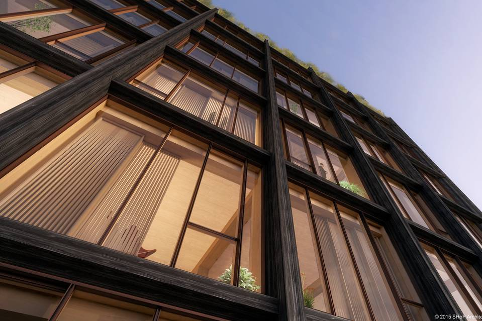 475 West 18th Street, 475 West, Chelsea development, SHoP Architects, wooden buildings, wood construction