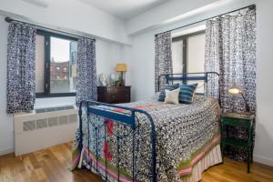 122 West Street, bedroom, pencil factory