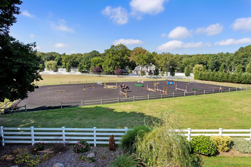 Mill Hill Farm, Wolf of Wall Street house, Long Island equestrian estate, Laffey Fine Homes