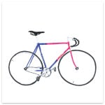 bike art, original bike prints, Massimo Mongiardo