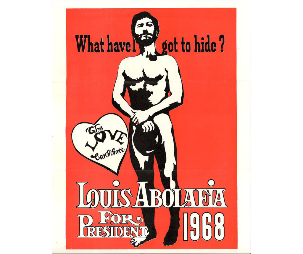 Louis Albolafia for president, Louis Albolafia, strangest presidential candidates