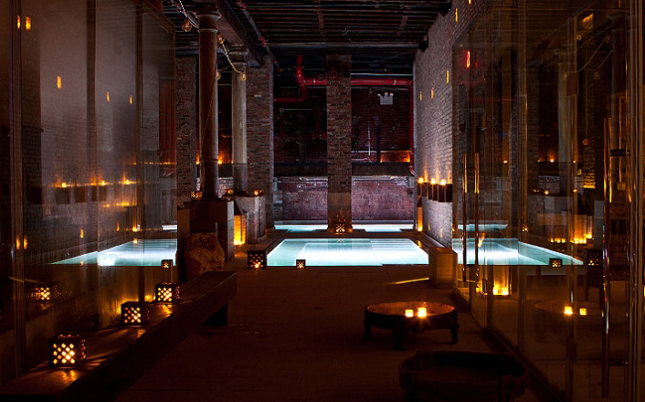 aire ancient bats, bath house NYC, AIRE Ancient Baths