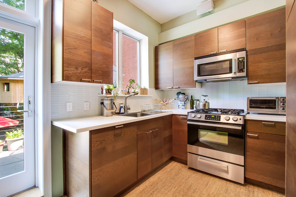 283 Adelphi Street, kitchen, townhouse