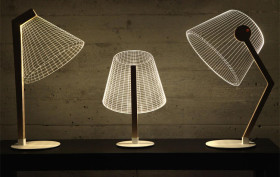 Studio Cheha, bulbing lamps, 2-d LED Desk Lamp