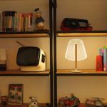 Studio Cheha, bulbing lamps, 2-d LED Desk Lamp