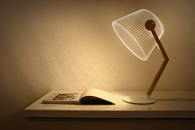 Trendy Studio Chehaus Awesome Bulbing Led Lamps Are Actually D Cutouts With Awesome  Lamp.