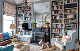 brooklyn brownstone, mcgrath interiors, built-ins, shelving,