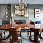 brooklyn brownstone, mcgrath interiors, wood dining room table