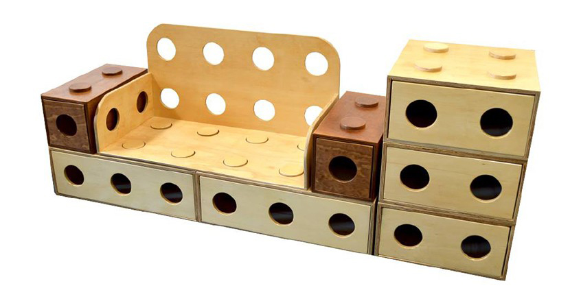LEGO Furniture, Chilean Design, Francis Raab
