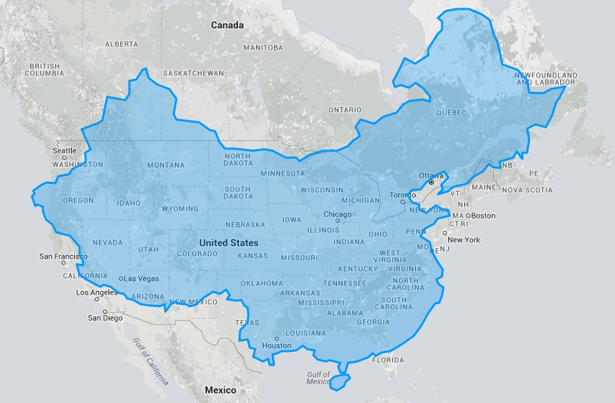 True Size Map\' Will Change Everything You Think About World ...