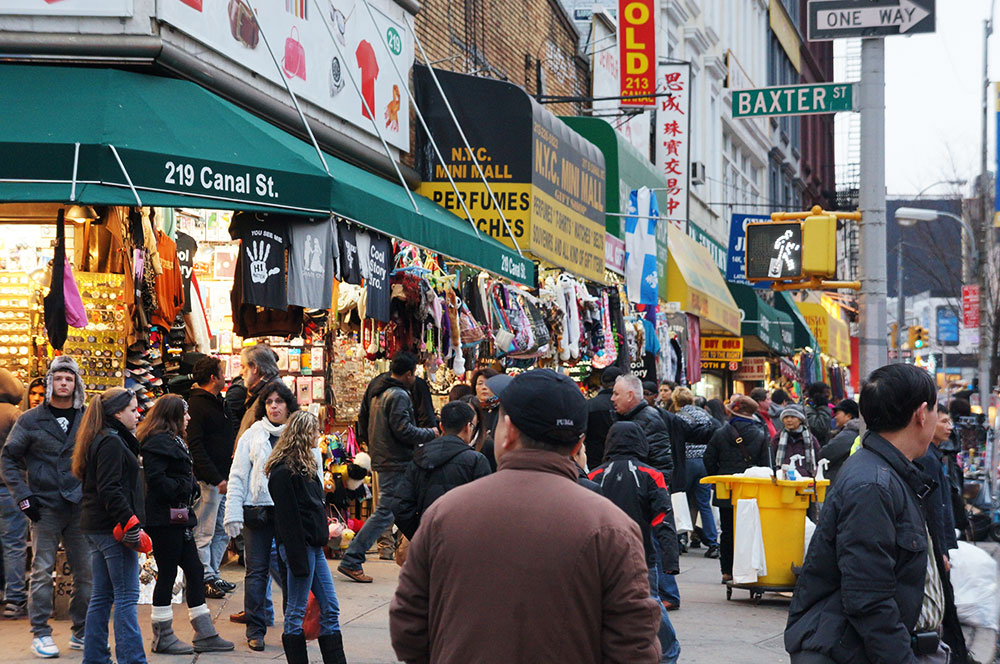 canal street, chinatown ny