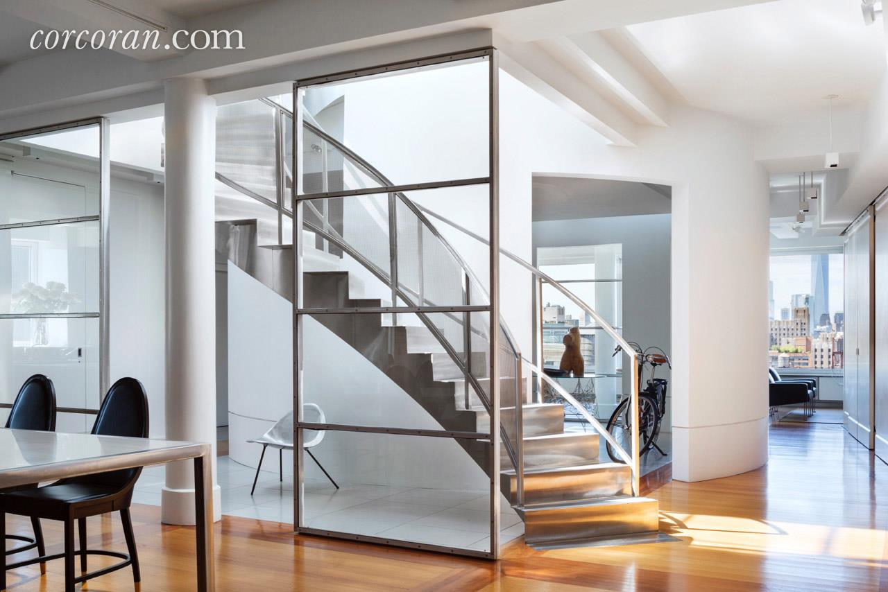 143 West 20th Street, Chelsea, Cool Listing, Chelsea Penthouse For Sale, NYC