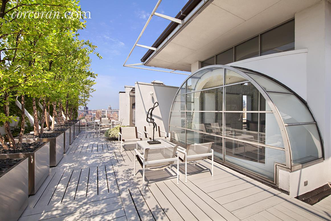 143 West 20th Street, Chelsea, Cool Listing, Chelsea Penthouse for Sale, NYC Apartments for sale, Duplex Penthouse, Roof Deck, Solarium