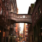 Staple Street Skybridge, NYC pedestrian bridges, 67 Hudson Street, 9 Jay Street