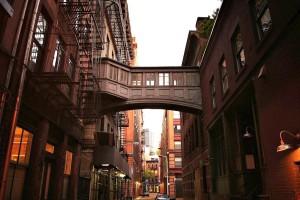 Staple Street Skybridge, NYC pedestrian bridges, 67 Hudson Street, 9 Jay Street
