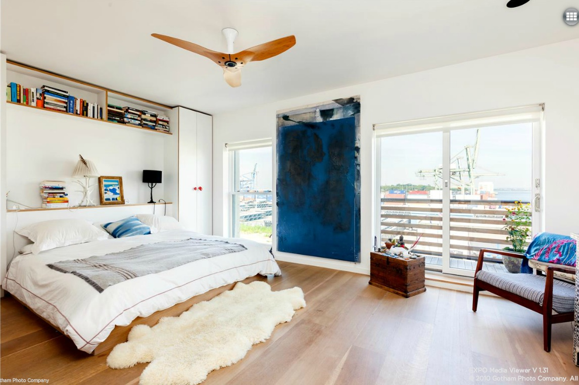 113A Columbia Street, master bedroom, modern