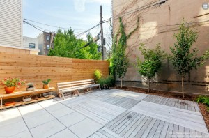 113A Columbia Street, backyard