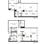 419 West 55th Street, Maisonette, Duplex, Interiors, Loft 55, cool listings, manhattan co-ops for sale, japanese design, Shigeru Kobayashi, Midtown West, shoji, fusuma