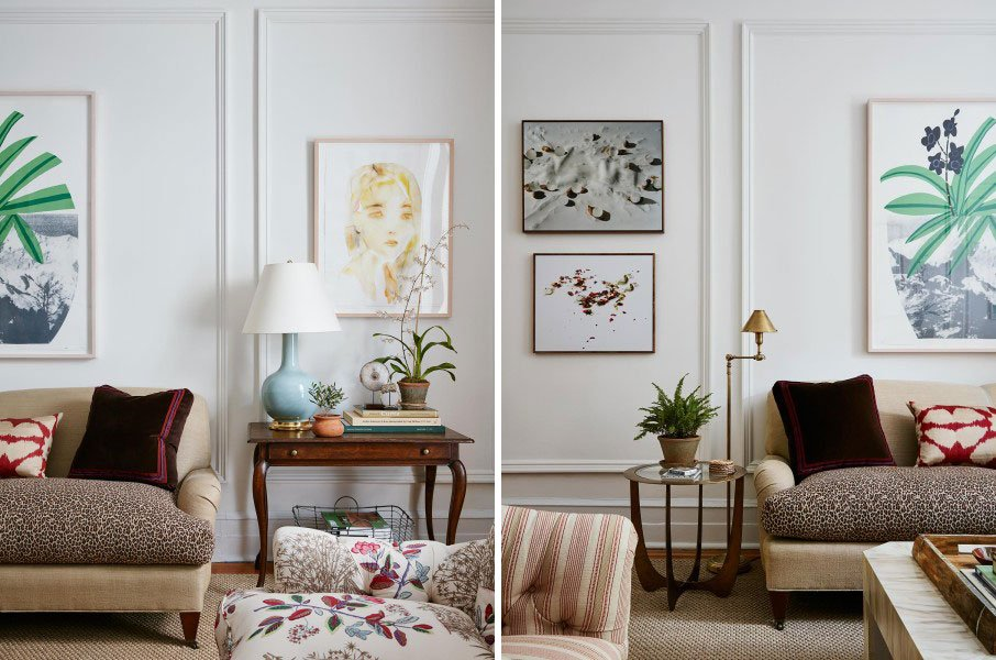 Lauren McGrath, upper east side apartment, McGrath II, mixed patterns