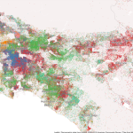 Mapping Immigrant America, Kyle Walker, immigration map, Los Angeles population map