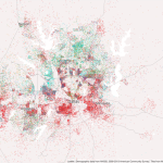 Mapping Immigrant America, Kyle Walker, immigration map, Dallas population map