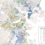 Mapping Immigrant America, Kyle Walker, immigration map, Boston population map