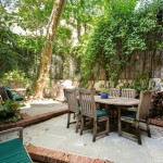 121 East 91st Street, patio, backyard