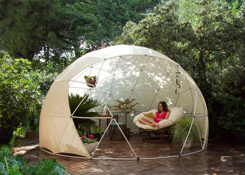 Posted On Sun September 6 2015 By Rebecca Paul In Design Furniture Landscape Architecture & Add This Awesome All-Season Garden Igloo to Your Outdoor Oasis | 6sqft