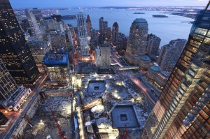 World Trade Center construction, World Trade Center photography, Ira Block, National Geographic, NYC aerial photography