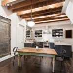 2 Hubert Street, 151 Hudson Street, Tribeca, Loft, Condominium for sale, cool listing, interiors, kitchens, black kitchen