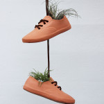 cermaic shoe planters