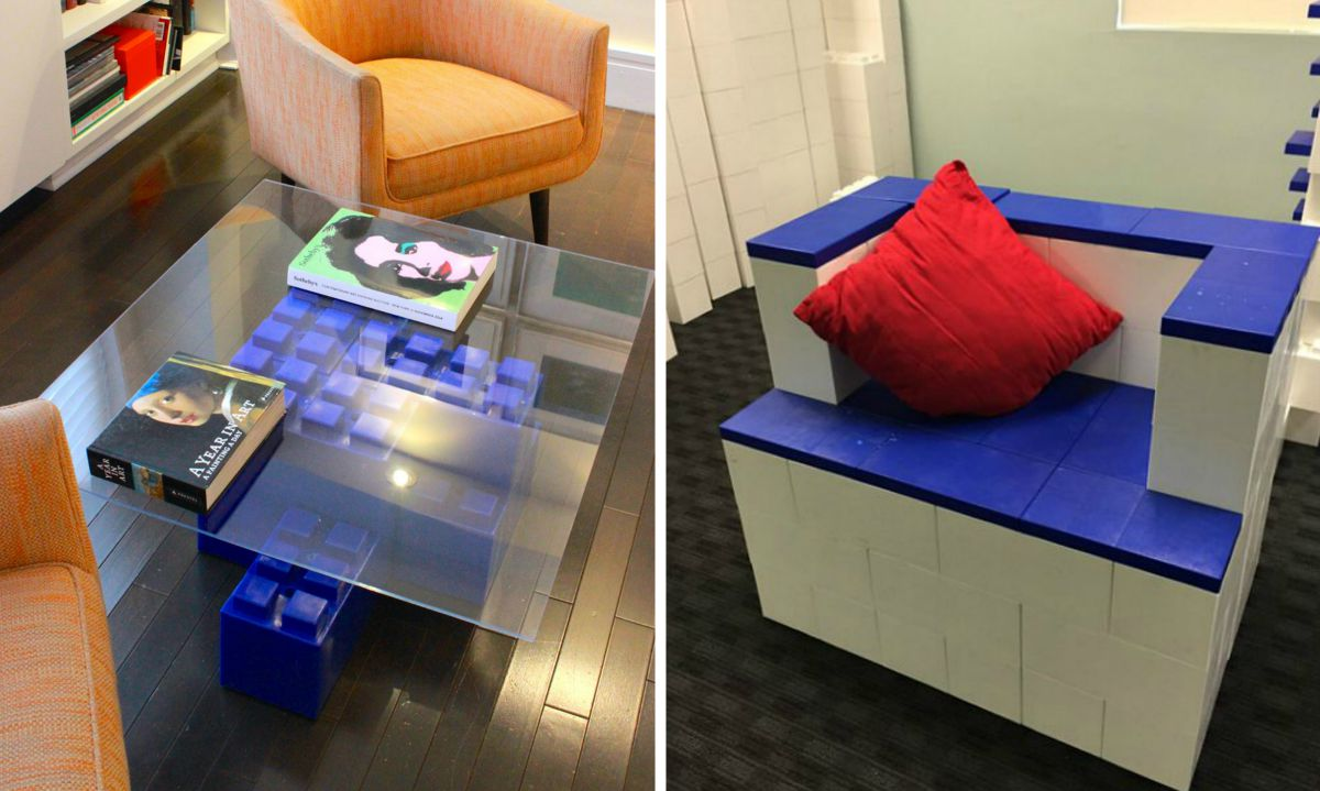 Giant LEGO Blocks Let You Build Anything from a Coffee Table to an ...