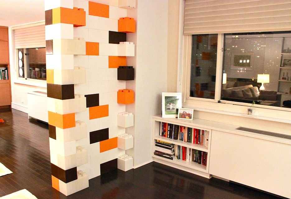 Giant LEGO Blocks Let You Build Anything from a Coffee Table to an