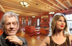 155 Franklin Street, Tribeca lofts, Taylor Swift, Sir Ian McKellen, Peter Jackson