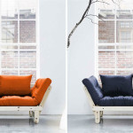 Fresh Futon KARUP, space saving furniture, futon, pine furniture