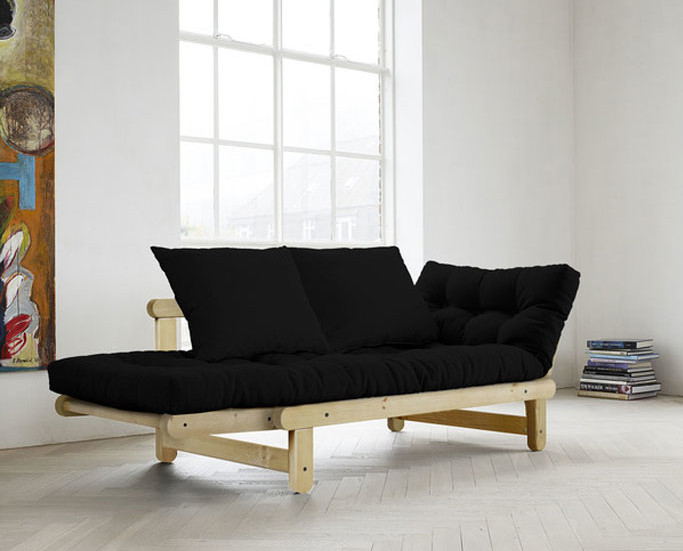 Fresh Futon KARUP, space saving furniture, futon, pine furniture, love seat