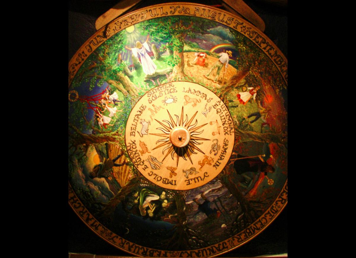 pagan wiccan calendar