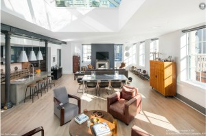 140 franklin street, loft, tribeca
