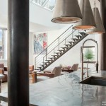 140 Franklin Street, staircase, loft, penthouse, condo