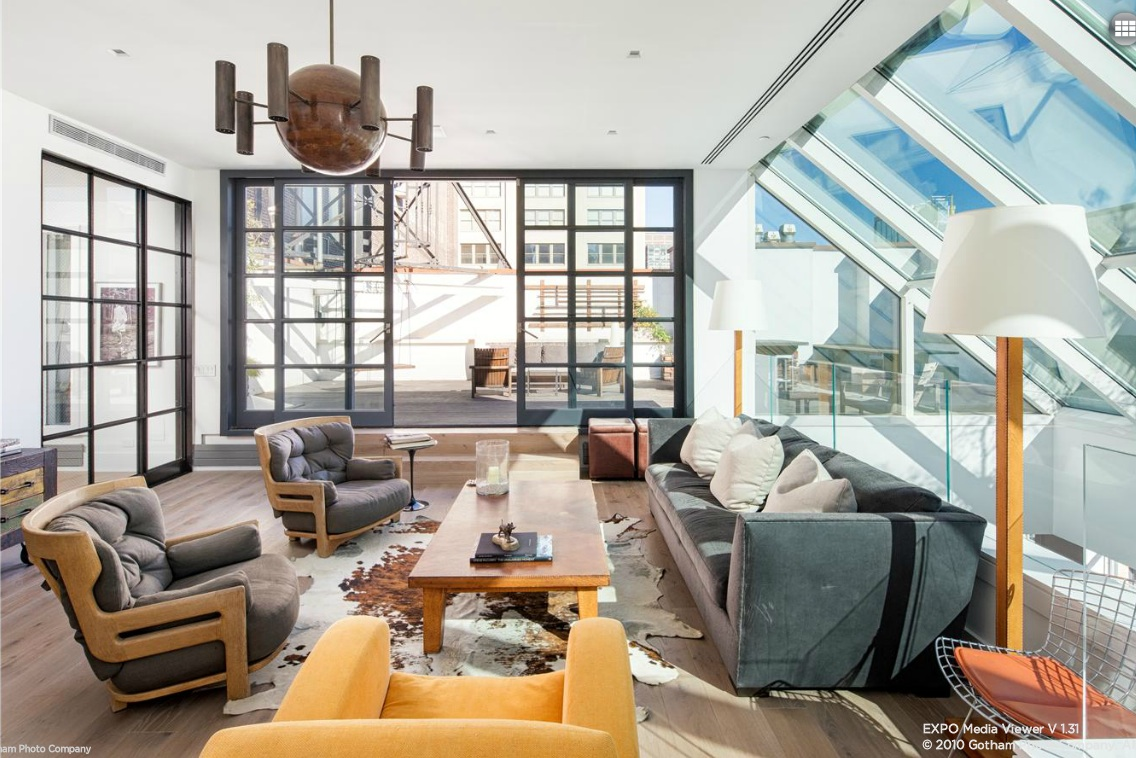 140 Franklin Street, penthouse, loft, condo, tribeca
