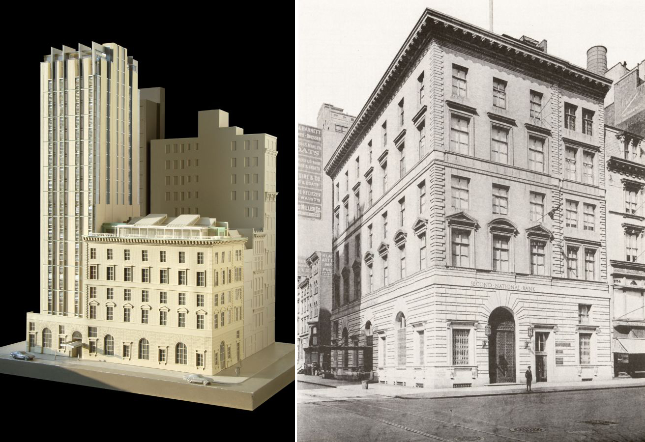 pbdws nomad hotel prepares for 20 story addition to historic mckim mead white building