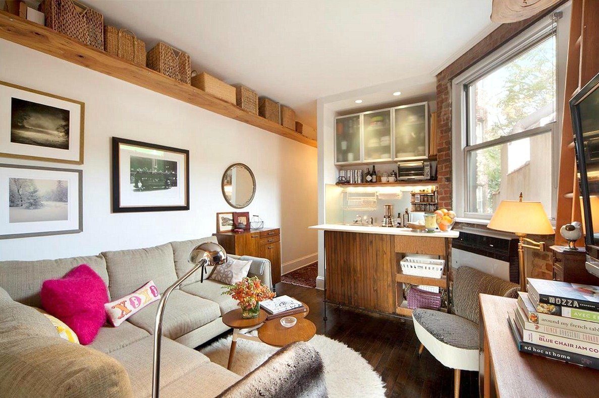 $721,000 West Village Apartment Has A Cozy Floorplan With The Kitchen In The  Living Room