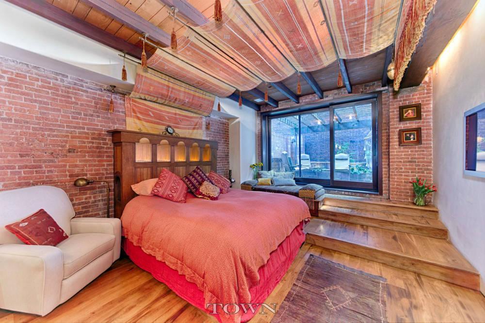 321 Greenwich Street, loft, bedroom, tribeca