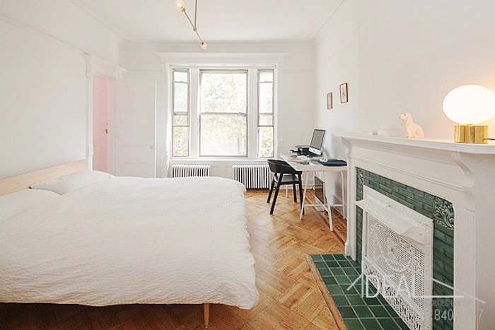 611 macon street, living room, parlor floor, bed stuy