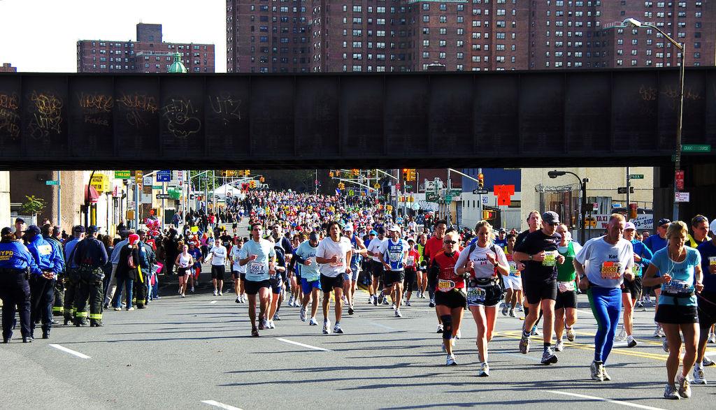 NYC Marathon, Bronx