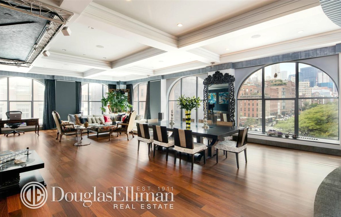 This 8m tribeca loft is a real eye opener 6sqft for Real estate in tribeca