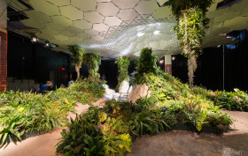lowline, James Ramsey, Dan Barasch, underground park, Entrance to the Lowline, lowline renderings, raad architecture