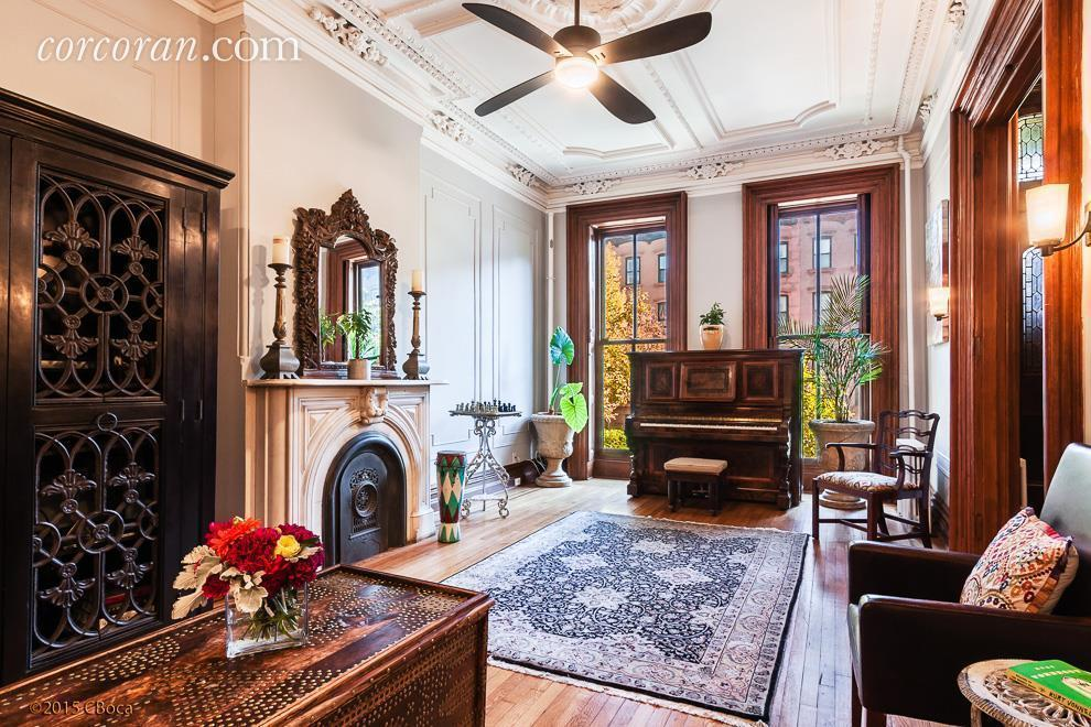 Uber Historic Townhouse In Clinton Hill Is Also Uber
