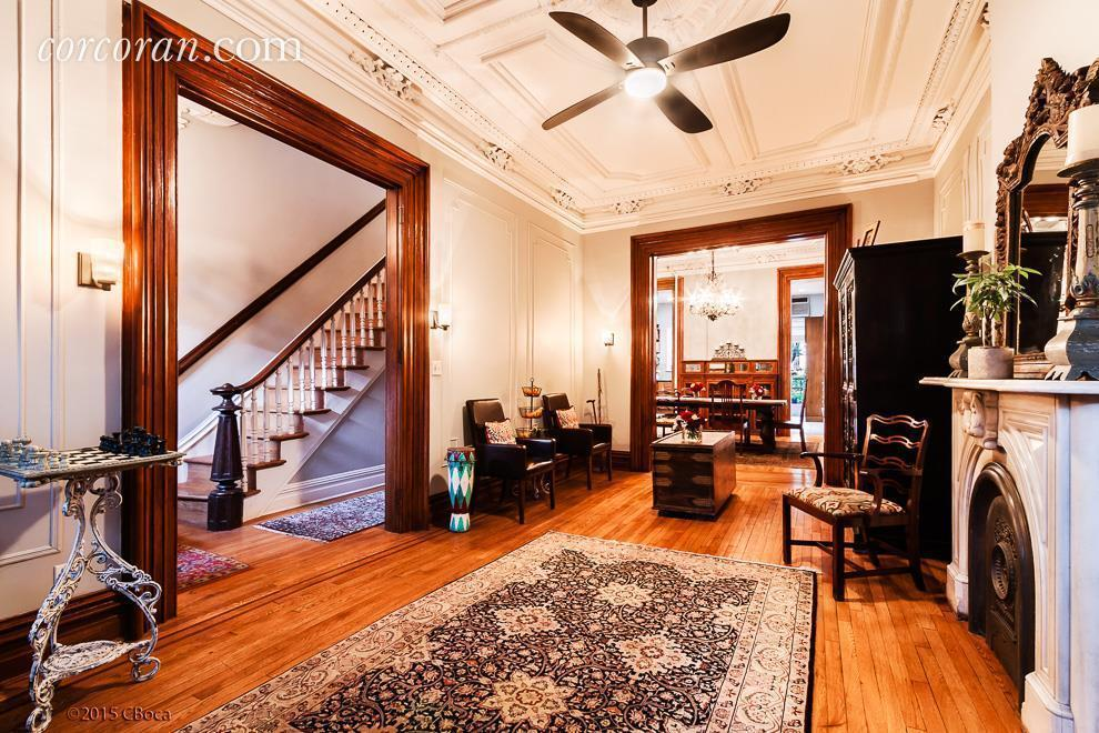 14 Cambridge Place, clinton hill, parlor floor, living room