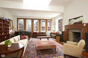 27 Howard Street, soho, penthouse, living room